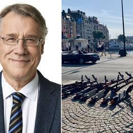 Jan Valeskog och elsparkcyklar