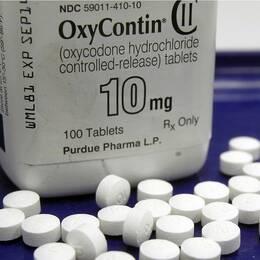Bild på det opiatbaserade läkemedlet Oxycotin