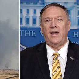 USA: Iran ligger bakom attacken