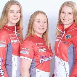 Isabella Wranå, Jennie Wåhlin, Almida de Val och Fanny Sjöberg i Lag Wranå utmanar Lag Hasselborg om en EM-plats.