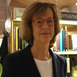 Anette Ekström, Älmhults bibliotekschef.