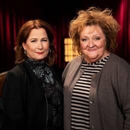 Anna Hedenmo och Marianne Mörck.