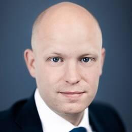 Saabs presschef Sebastian Carlsson.