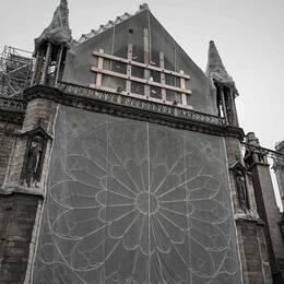 För sex månader sen brann Notre-Dame, så här går arbetet med att återställa katedralen.