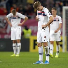 Det var deppigt i Norge efter 1–1 mot Rumänien.