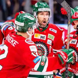 Joel Lundqvist avgjorde för Frölunda.