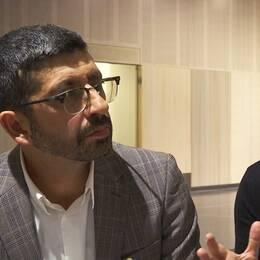 Forskarna Shervin Shahnavaz och Tove Wahlund