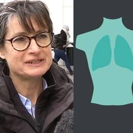 Smittskyddsläkaren Britt Åkerlind, en torso och legionellabakterier