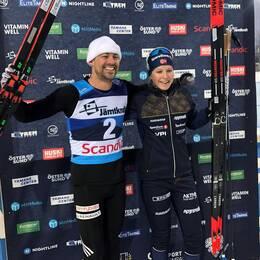 Ludvig Jensen och Marte Nordlunde.