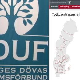 SDUF:s handbojor till Tolkcentralerna i Sverige