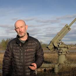 Patrik Widegren, reporter SVT på Gotland