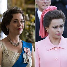 Tre skåderspelare ur serien The Crown.
