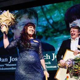 Dan Josefsson och Jenny Küttim är vinnare i kategorin Årets avslöjande.