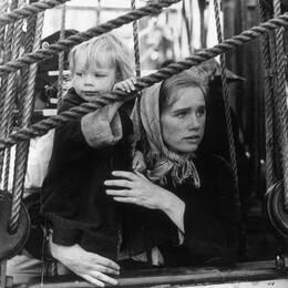 """Liv Ullman och Max von Sydow i """"Utvandrarna"""""""