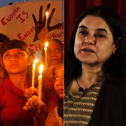 Indiens kvinnominister Maneka Ghandi tycker att de uppmärksammade våldtäktsfallen i Indien har gett en felaktig bild av landet.