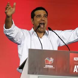 Grekland står inför sitt tredje val på ett år. Regeringspartiet Syrizas ledare Alexis Tsipras lovar lugn och stabilitet om han vinner på nytt.