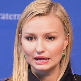 Kristdemokraternas partiledare Ebba Busch Thor.