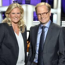 Camilla Kvartoft och Mats Knutson