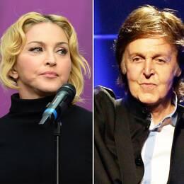 Yoko Ono, Madonna och Paul McCartney är några av alla de som sörjer David Bowies bortgång.
