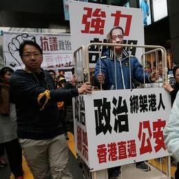 Hongkongbor har varnat för att de fem försvunna bokhandlarna, varav två europeiska medborgare, visar att makten i Peking blivit djärvare i sin strävan att tysta oliktänkande. Arkivbild.
