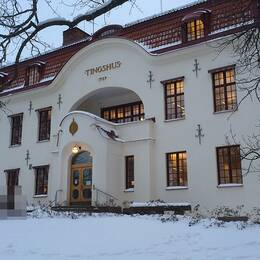 Tingshuset i Hudiksvall.