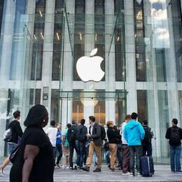 Apples glaskub på Fifth Avenue i New York.