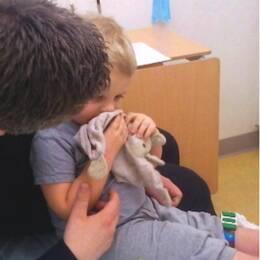 Liam fick diagnosen diabetes typ 1 när han var två år gammal.
