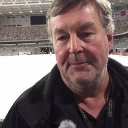 Bosse Lindblom ansvarig för isläggning på Tele2 Arena.