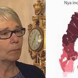 Monica Johansson (S), landstingsstyrelsens ordförande.