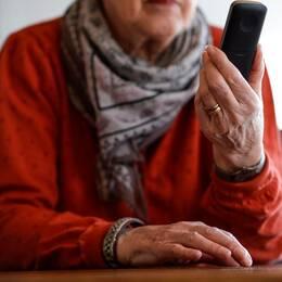 """Bedragarna ringer de äldre och säger """"Hör du vem det är?"""" Många av offren gissar då på ett barnbarn eller en annan nära släkting."""