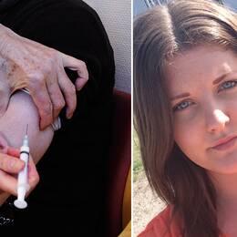 Jennifer drabbades av narkolepsi efter massvaccineringen – kritiserar maxtak för ersättning till drabbade.