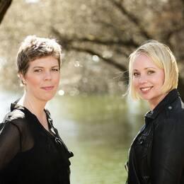 Johanna Lindbäck och Lisa Bjärbo.