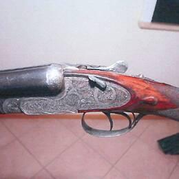 Hagelgeväret som användes i Vallåkra