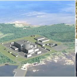 kärnkraftverket i Pyhäjoki i Finland