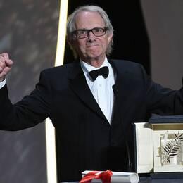 Jubel för Ken Loach i Cannes.
