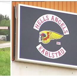 Collage över Ha-gården och en klubbens märke