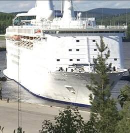 Ocean Gala i Utansjöhamnen.