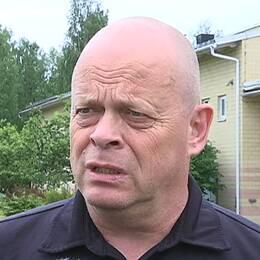 Anders Nyman, insatsledare räddningstjänsten Borlänge/Falun