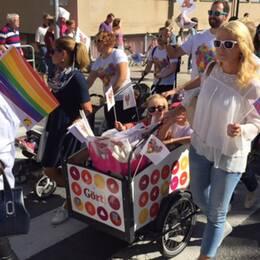 Prideparaden i Gävle