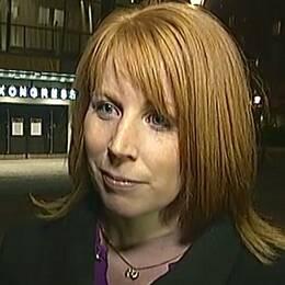 Annie Lööf, partiledare Centerpartiet