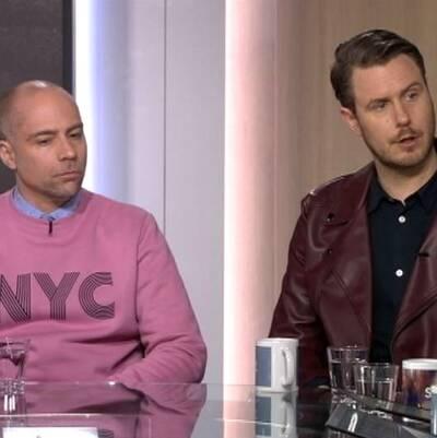 Schlagerkommentatorerna från tidningen QX Ken Olausson och Ronny Larsson gästade Morgonstudion på fredagsmorgonen.