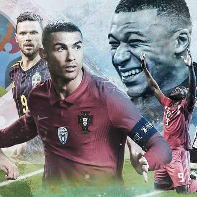 51 matcher sänds i SVT och TV4:s kanaler i sommar när herrarnas fotbolls-EM avgörs. Här ser ni samtliga matcher samt gruppinledningen av nationerna.