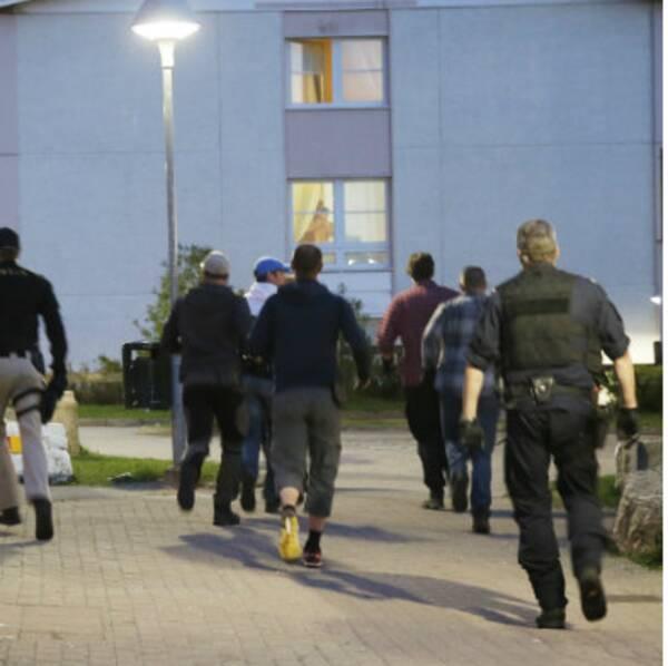Polischefen Tomas Jansson menar att situationen på Hässleholmen i Borås behöver klassas som särskilt allvarlig.