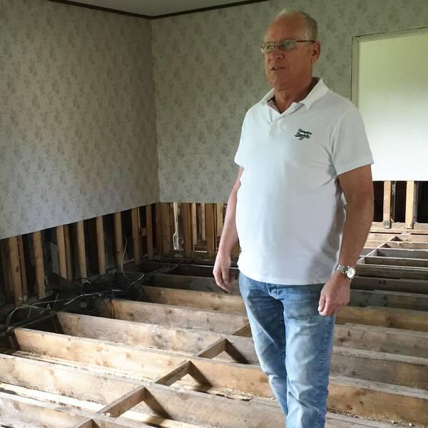 översvämning hus hallsberg husgrund