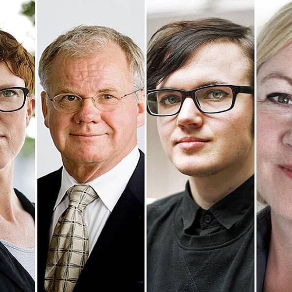 Frida Sandegård, Frank Berglund och Cecilia Dhejne