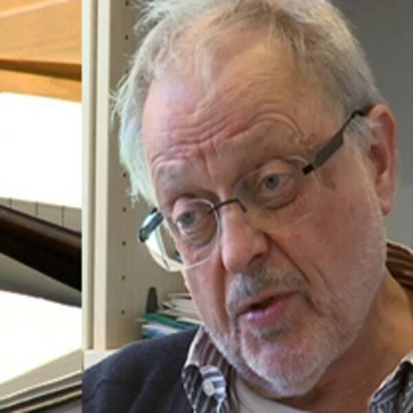 Björn Gillberg och klubba