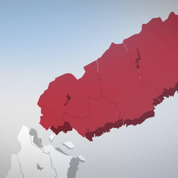 Norrland, bryter sig lös, egen stat, grafik
