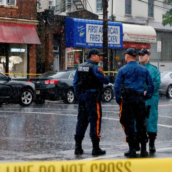 Bombdådet inträffade på 23rd Street i Chelsea i lördags.