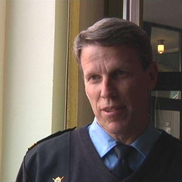 Örjan Brodin, kommunpolis i Knivsta