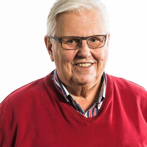 Dan-Åke Moberg och Indianernas logga